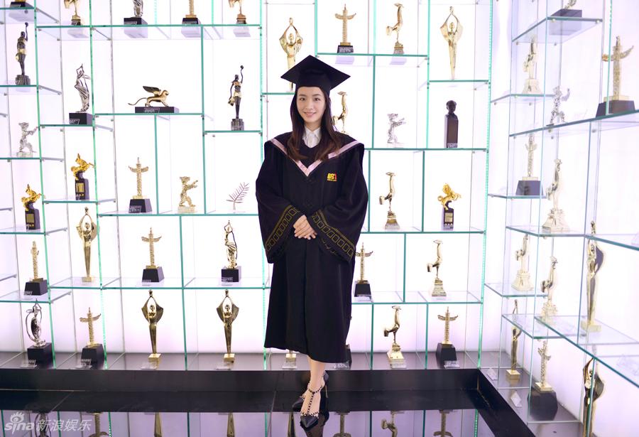 北京电影学院美人大学生の卒业写真 ピュアさ