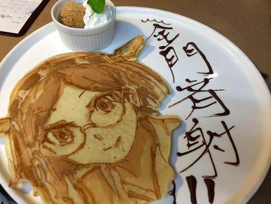 你舍得吃嗎? 大師級動漫人物煎餅制作【3】