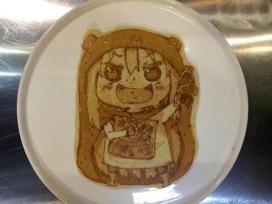你舍得吃嗎? 大師級動漫人物煎餅制作【5】