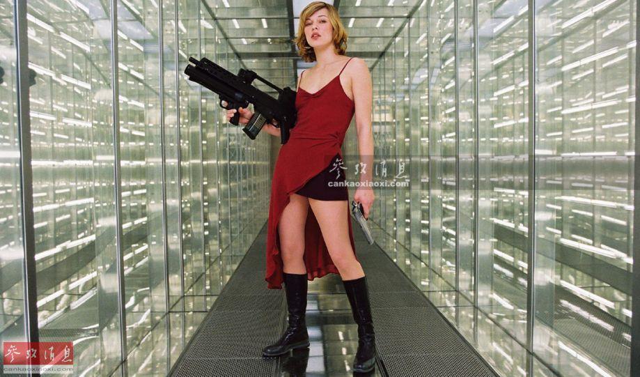 美女玩槍也瘋狂!外國辣妹重裝來襲