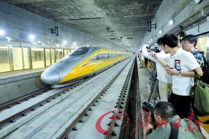 「アジア最大の地下駅」広深港鉄道の福田駅が30日に正式運用開始