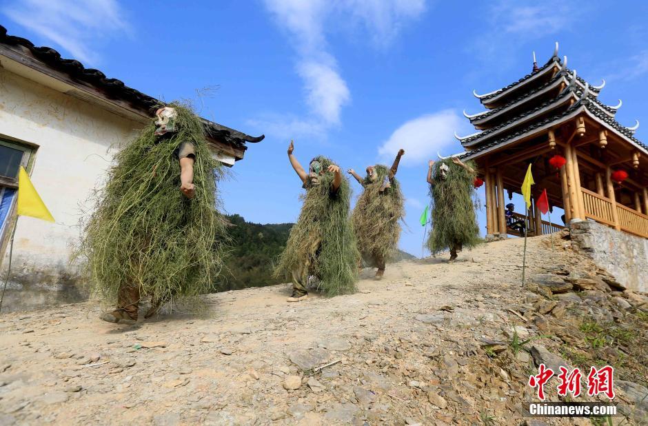 広西省融安県の伝統文化「芒篙節」