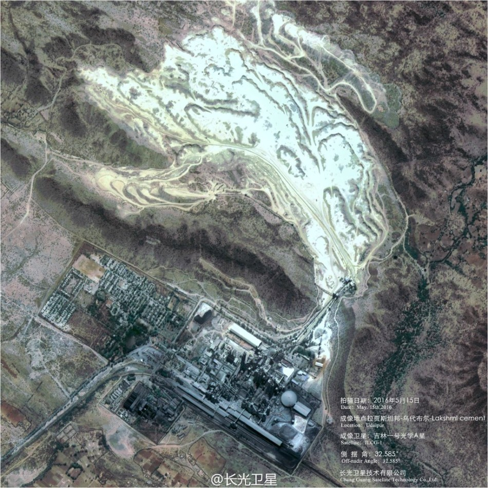 中国の衛星が撮影 米国の海軍造...