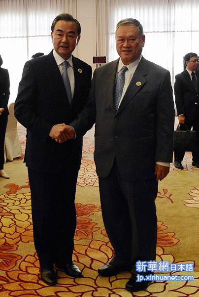 王毅外交部長:南中国海問題に対...
