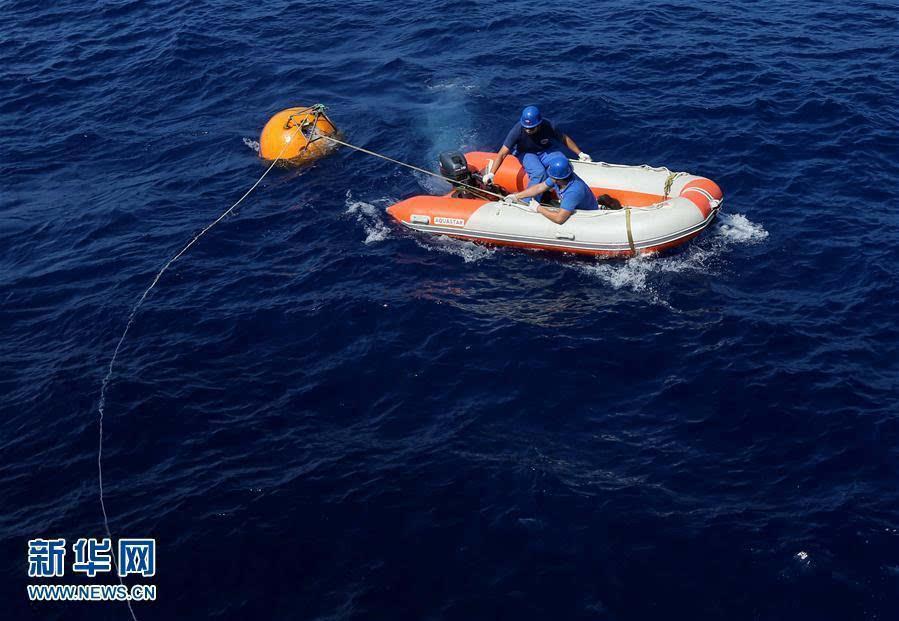 南中国海で5日間に4回の潜水 有...
