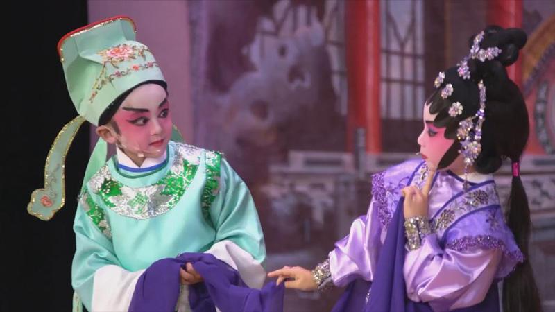 【映像】粤劇を演じるロサンゼルスの子どもたち