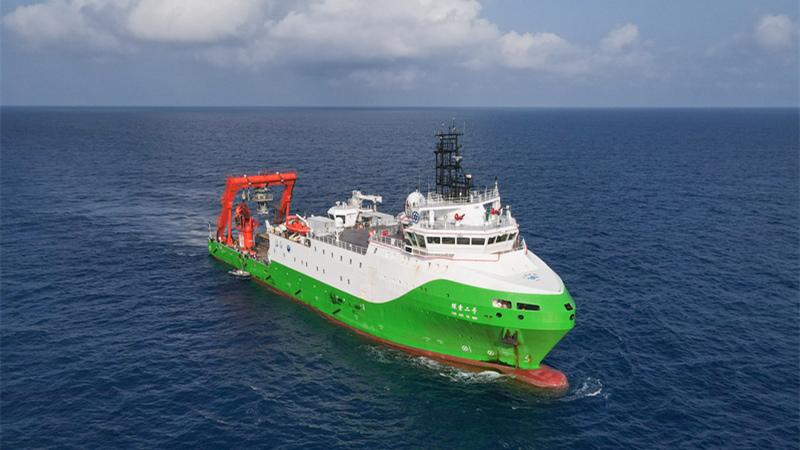 深海高性能センサー探査機器、今年度初の海上試験を完了