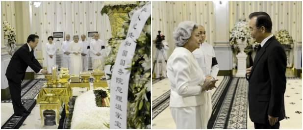 温家宝総理、カンボジア・シアヌーク前国王を弔問 温家宝総理が東アジアサミットシリーズに出席 カン
