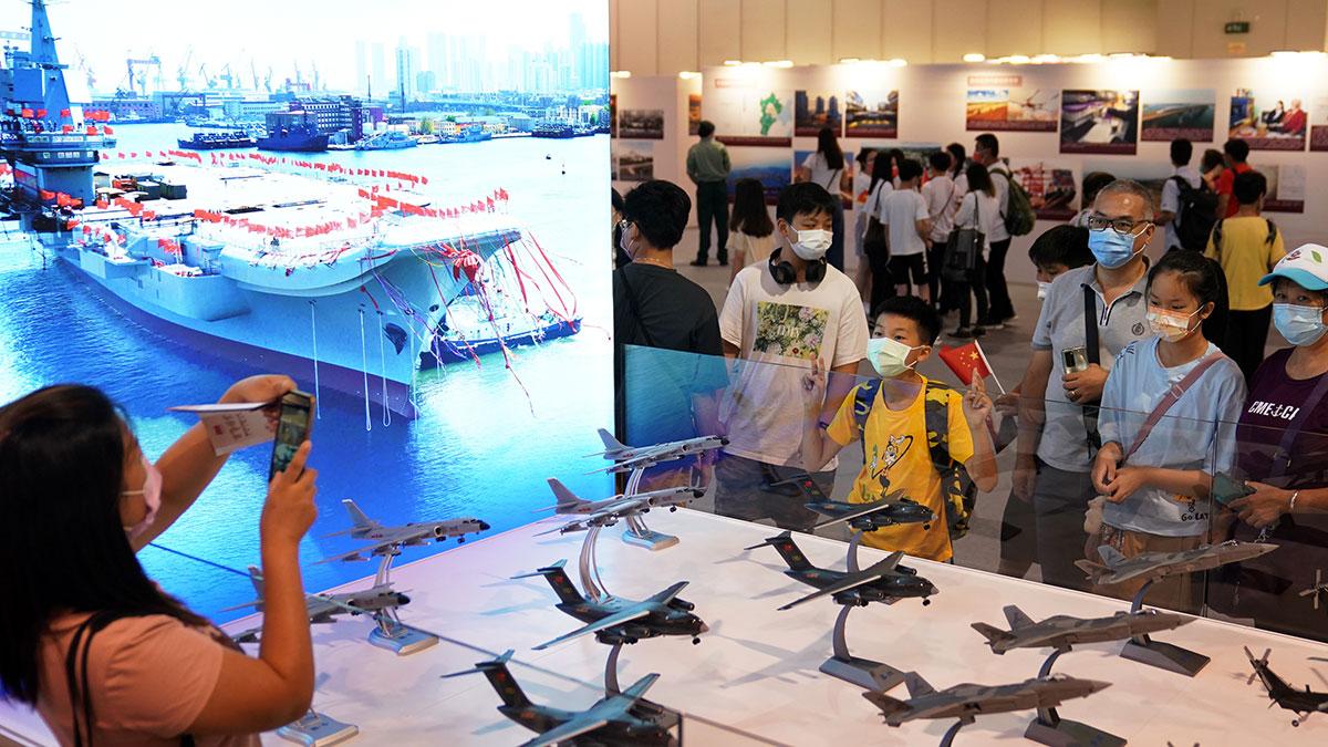 香港で中国共産党創立100周年祝賀テーマ展
