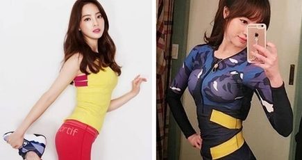韓国のヨガ美女 抜群のスタイルで人気_中国網_日本語
