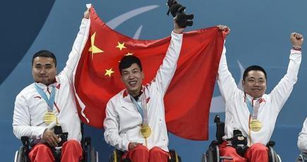 【平昌パラ】中国、冬季パラで初の金メダル 車いすカーリング