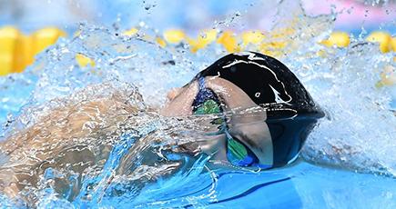 第18回アジア大会 日本の池江璃花子が金 競泳女子100m自由形